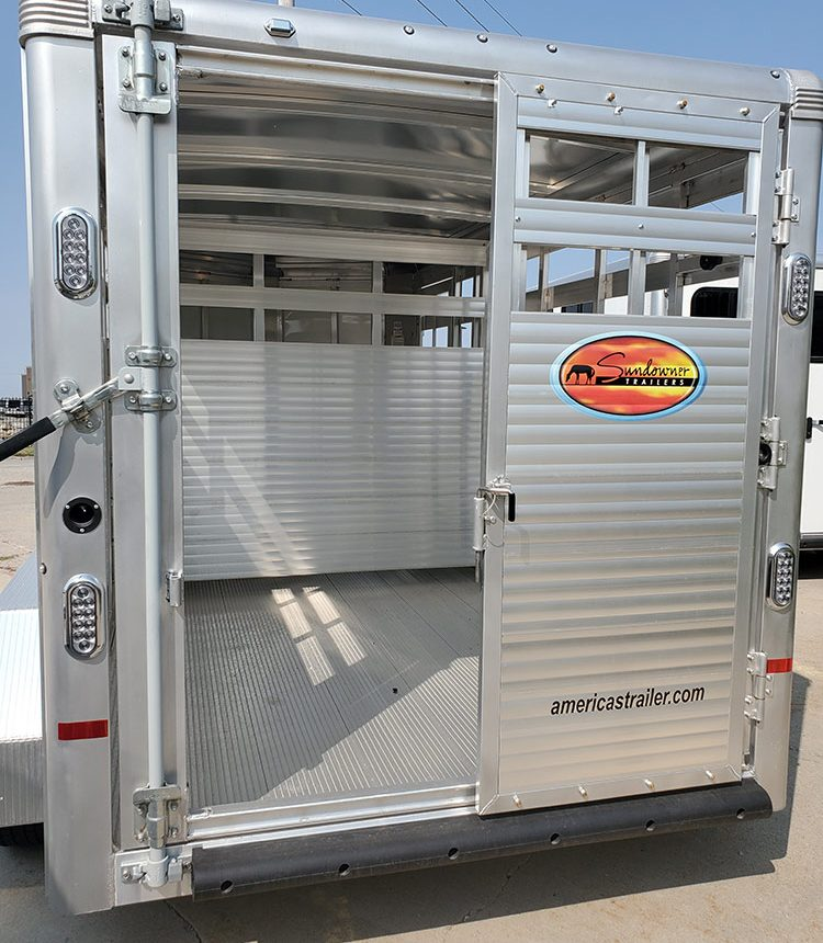 Charcoal Horse Trailer 12