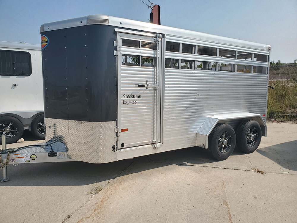 Charcoal Horse Trailer 2