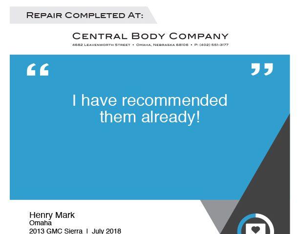 Henry Mark - July 2018